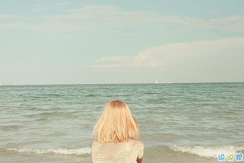 爱情中关于等待的句子和图片 白茶清欢无别事我在等风也等你