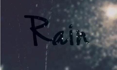 关于下雨天的经典说说大全 你是我枯水年纪里的一场雨