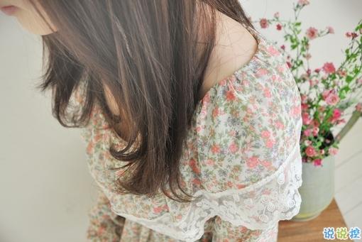 年少时轰轰烈烈的爱情说说 为爱情流过眼泪的说说
