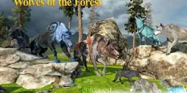森林狼模拟器