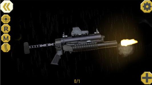 最佳的虚拟武器已经准备就绪,你可以把它在手机上,如果你下载最好的武器应用程序 - eWeapons™终极武器模拟器。很容易发挥,但感觉是伟大的。当您选择合适的手枪或步枪,你需要抠动扳机,就是这样。其中最好的游戏利器可以开始。突击步枪改良模拟,机枪或手枪和霰彈槍准备。你可以开始拍摄,当你想,你可以,只要你想,只要拍摄,不必担心子弹。随着eWeapons™终极武器模拟器,你将拥有无限的弹药,使这个模拟游戏特别多。在短短的武器应用程序您将有巨大的选择手枪和突击步枪,武器,逼真的声音和巨