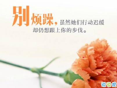 2019母亲节感恩祝福语带图片 母亲节的暖心话逗妈妈开心10