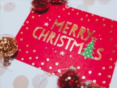 平安夜圣诞节贺卡怎么写 2019平安夜贺卡祝福语大全