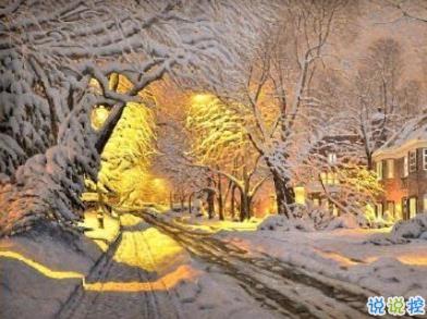 下雪的有意境的短句子 风雪吹满头也算到白首1