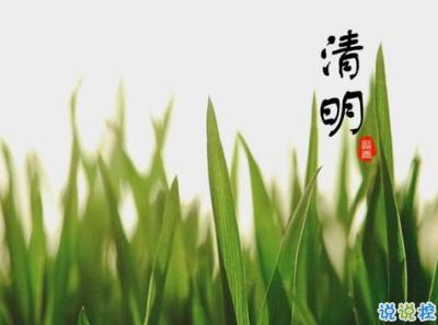 2020清明节祝福语大全 清明节祝福简短优美1