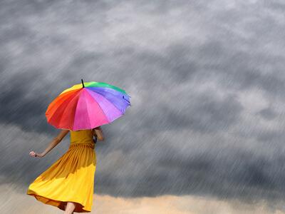 对付下雨天的心境说说下雨天的心境短语