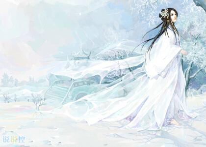 qq说说唯美古风带图片:愿得韶华刹那,开得满树芳华