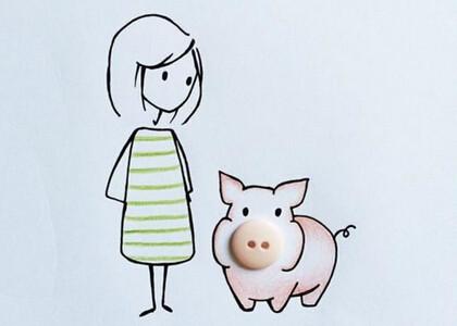 可爱萌猪搞笑动态